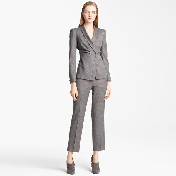 Armani Collezioni Asymmetrical Jacket - size 6
